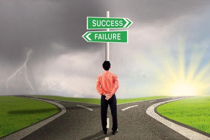 hay que escoger bien el camino al exito